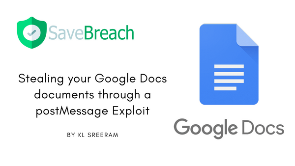 Stealing your private documents through a bug in Google Docs